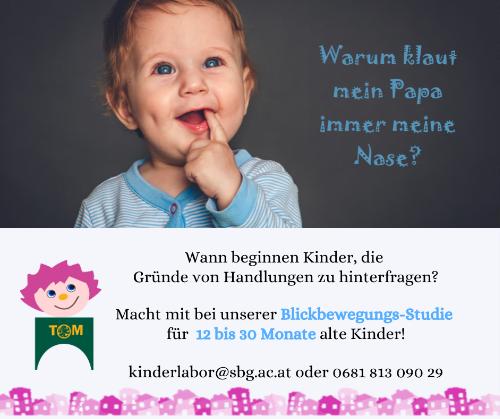 ToM Kinderlabor: Bewegungs-Studie