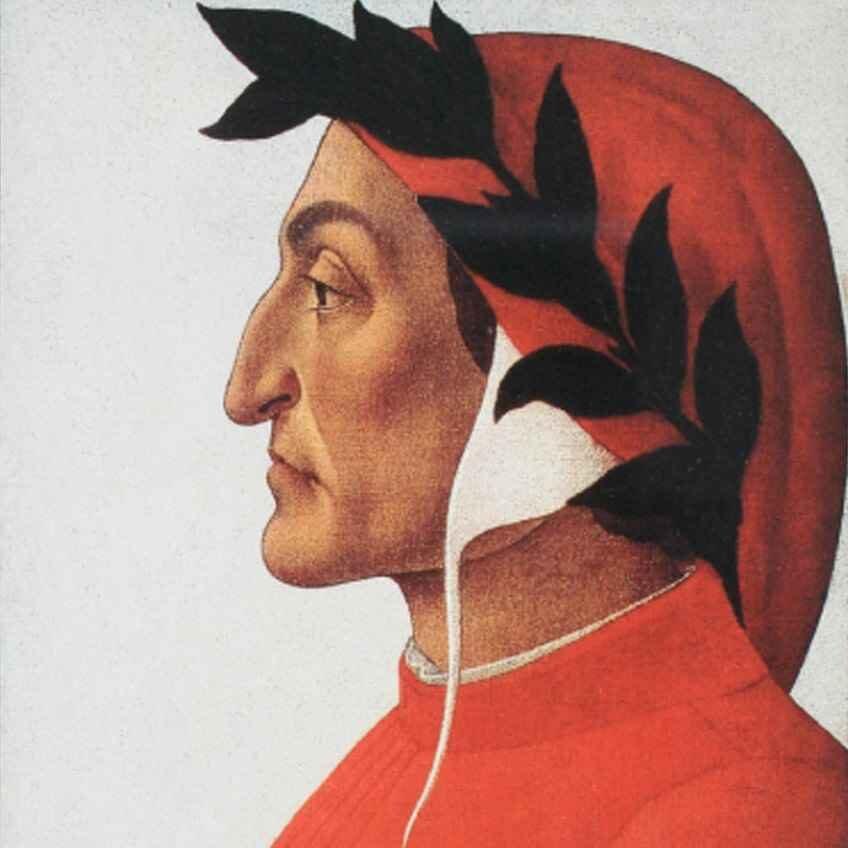 Sandro Botticelli: Dante Alighieri, um 1495
