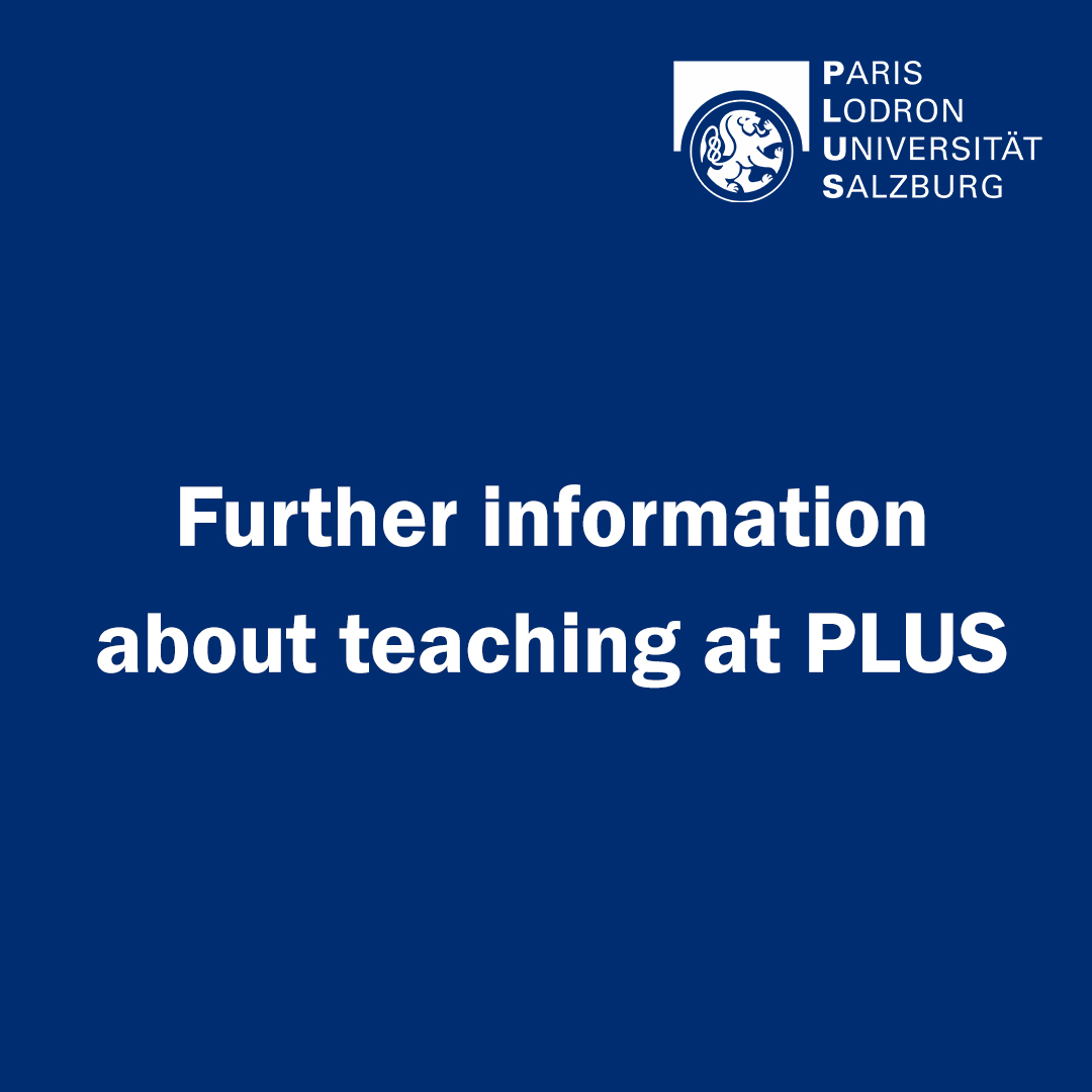 Further information about teaching at PLUS